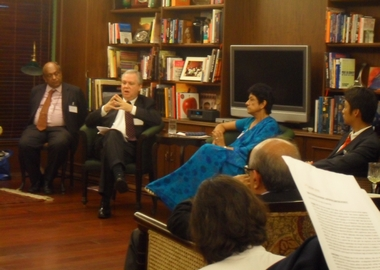 Indo-US Strategic Partnership: Confronting Competing Interests