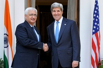 Khurshid and Kerry