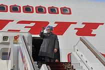 Singh on a plane