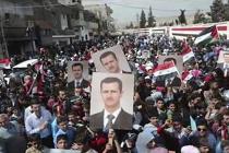 Assad rally