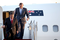 Tony Abbott_flight