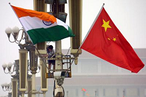 china-india-flags