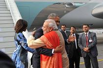 Modi-Obama bromance
