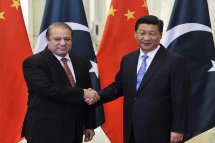 Sharif-Xi jinping