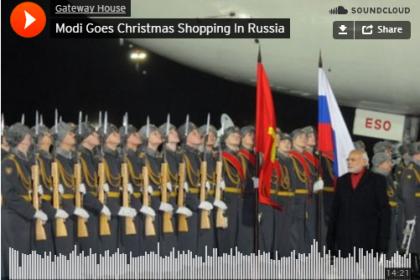 modi chrstmas russia
