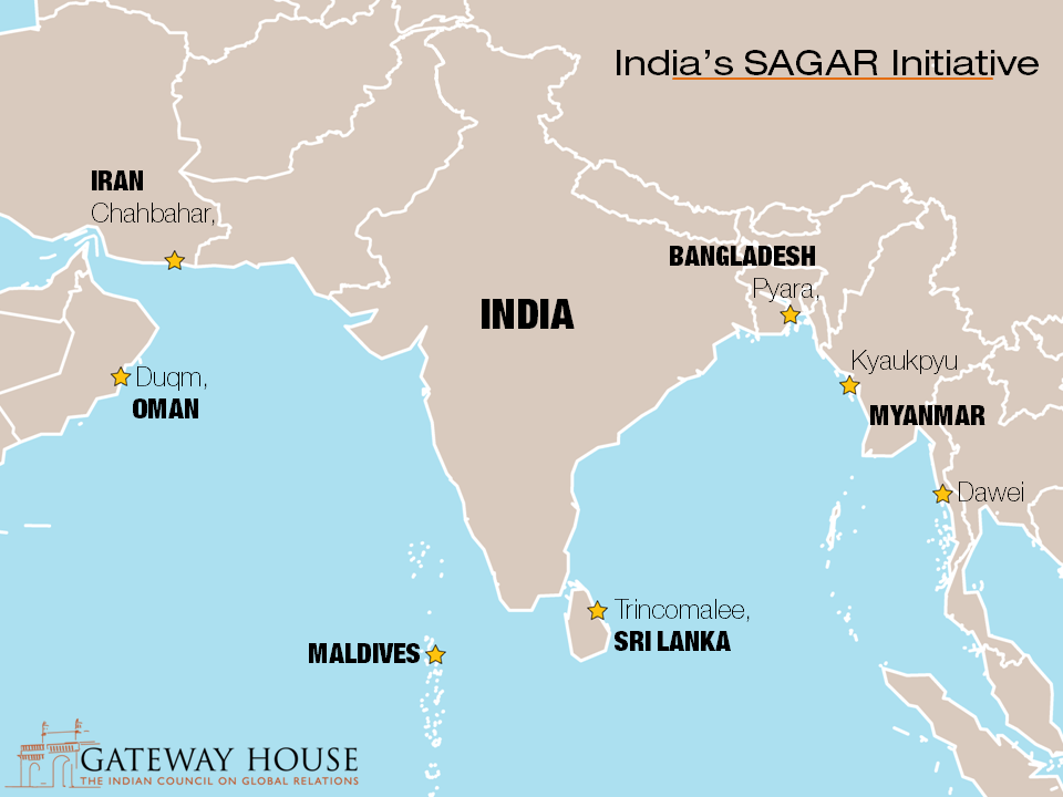 Sagarmala or sagar a maritime dilemma gateway house sagar map for website publicscrutiny