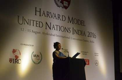 Manjeet Speech HMUN 2016