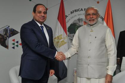 Modi and Sisi