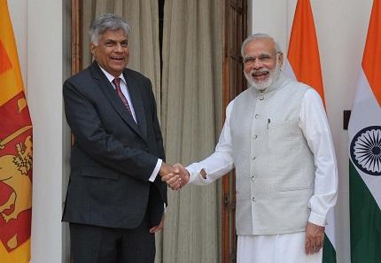 Sri Lankan Prime Minister Ranil Wickremesinghe visit to India