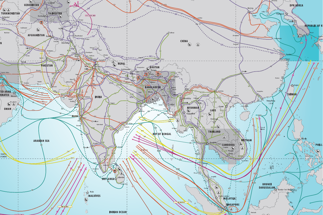 Indian Trade Route