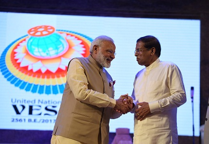 Prime Minister Modi visit to Sri Lanka