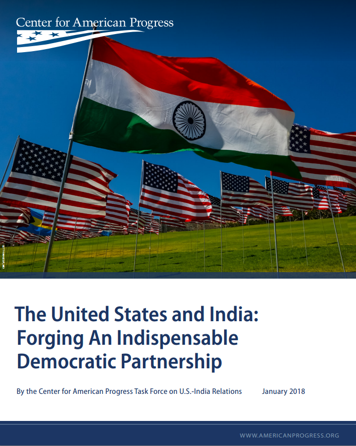 The United States and India: Forging an Indispensable Democratic Partnership