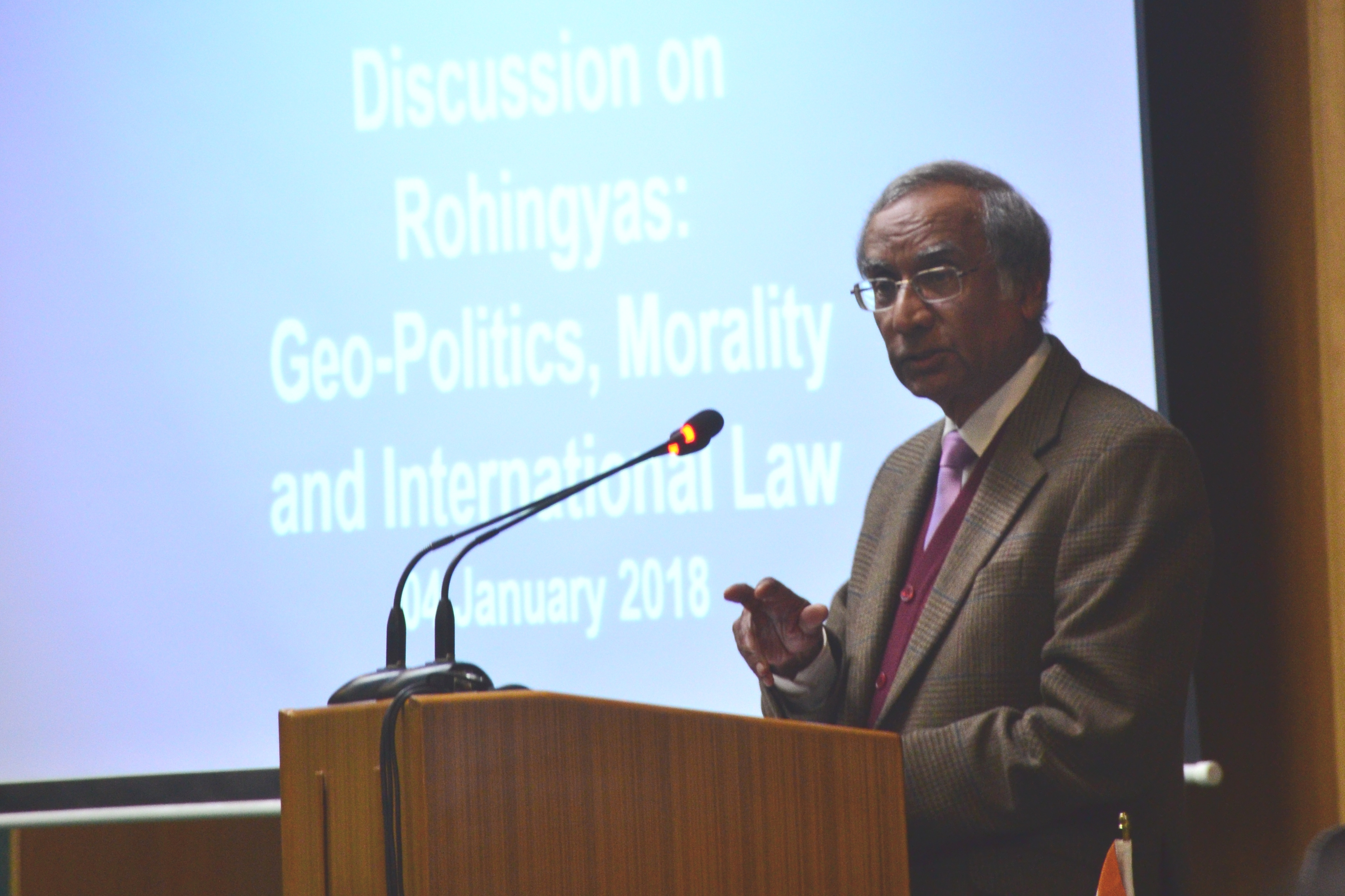 Rohingyas_Seminar_AmbR Bhatia