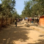 Inside the Tengakhali refugee camp in Cox's Bazar