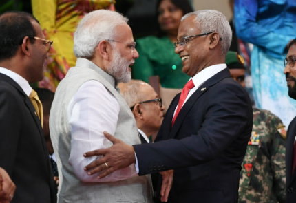 Indian Prime Minister visits Maldives