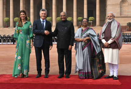 President of Argentina visits India