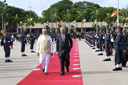 Modi visits Maldives and Sri Lanka