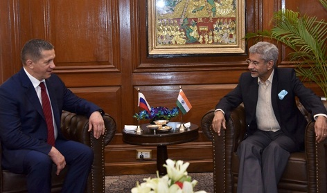 Russian Deputy Prime Minister visits India