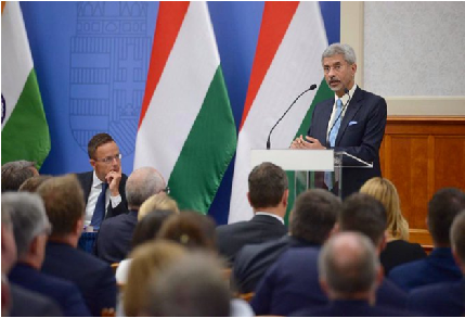 External Affairs Minister's visit to Hungary