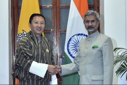 Bhutan Foreign Minister visits India