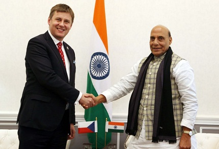 Czech Republic FM in India