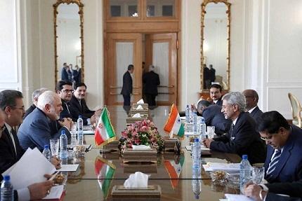 Iranian FM visits India