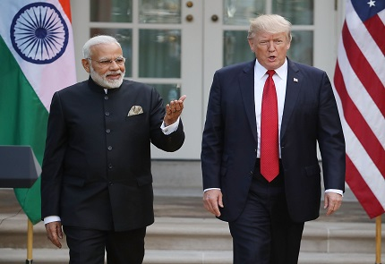 Telephonic conversation between PM and President of the United States of America