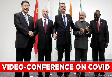 Video Conference of the BRICS Ministers of Foreign Affairs