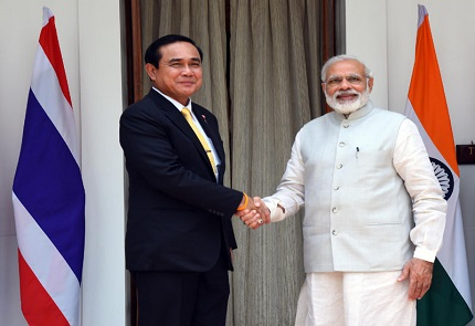 Conversation between PM & Prime Minister of Thailand