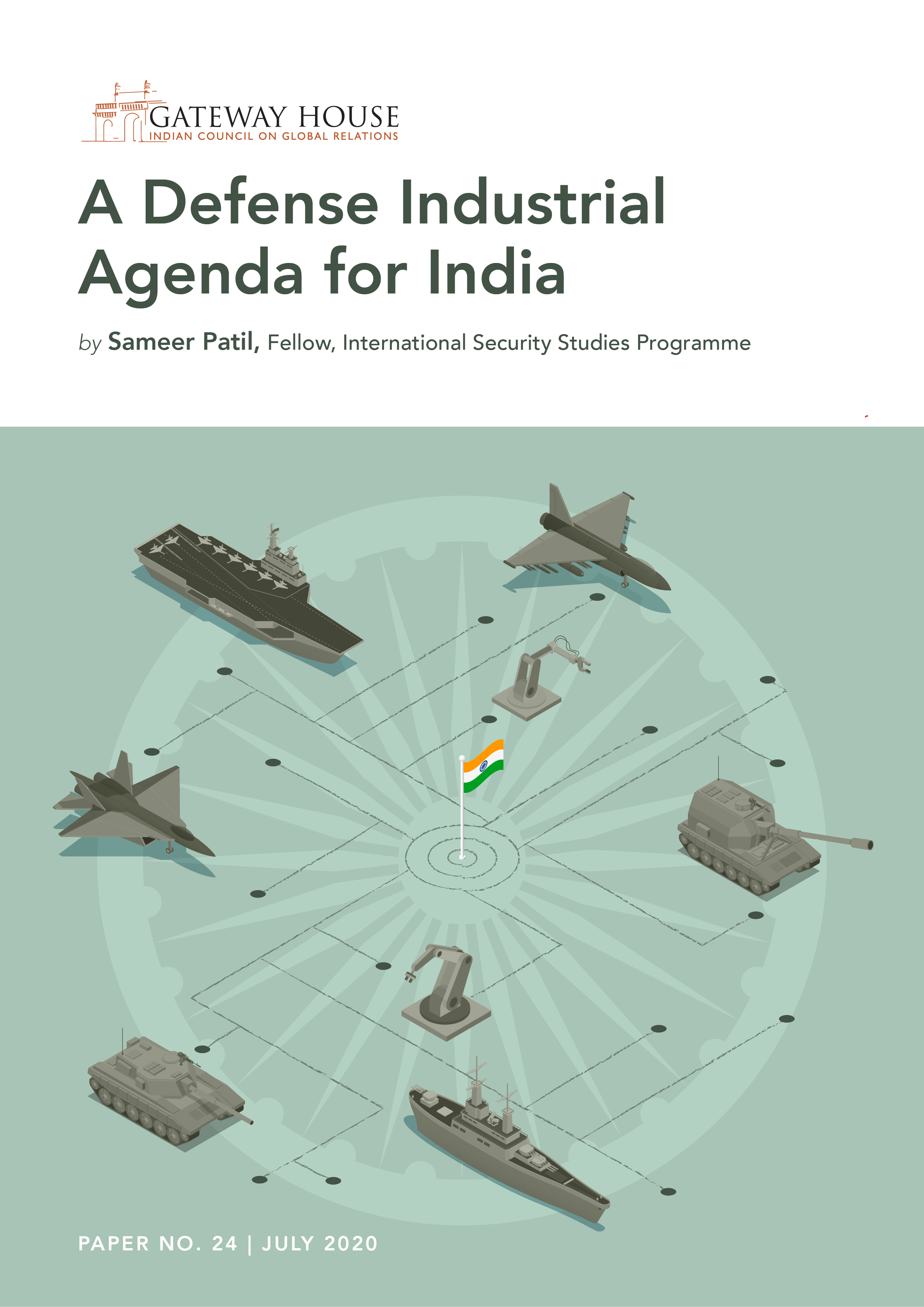 Defense Industrial Agenda_Sameer Patil_Final Cover