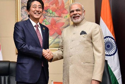 Telephone Conversation between Prime Ministe and Japanese PM Mr. Abe Shinzo