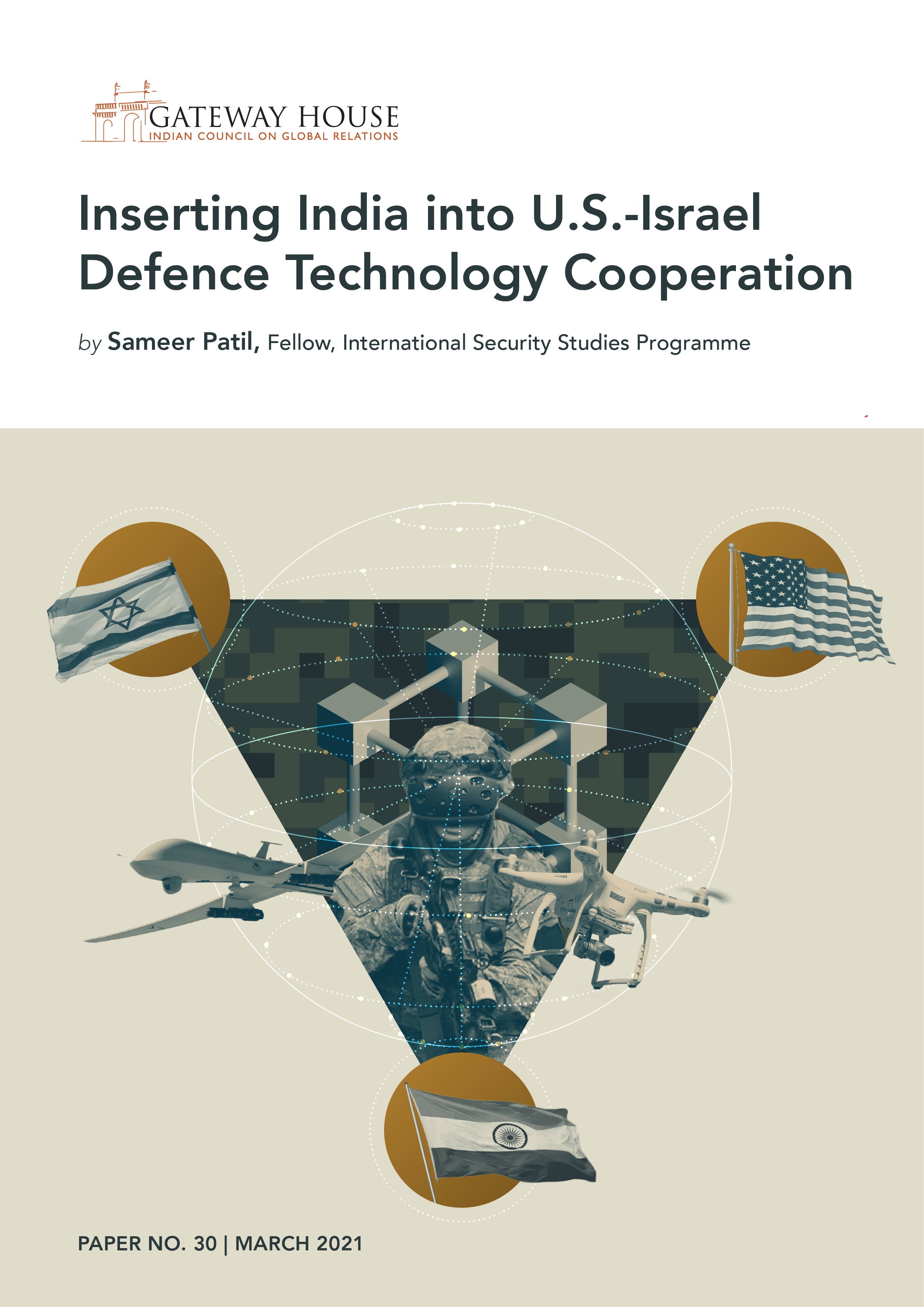 inserting india into u.s.-israel defence technology cooperation
