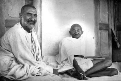 The Mahatma and the Badshah